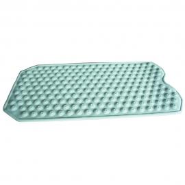 Alfombrilla de goma antideslizante para bañera efecto masaje