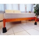 Elevadores cónicos para camas y sillas | 4 uds | 15x7x15 cm | Mobiclinic - Foto 3