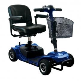 Scooter eléctrico | 4 ruedas | Compacto | Con cesta | Litium | Libercar
