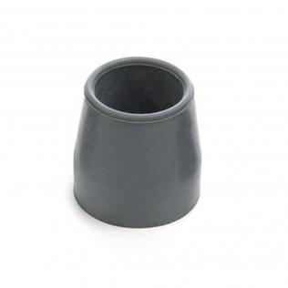 Contera de 25 mm   Para andadores   Color gris