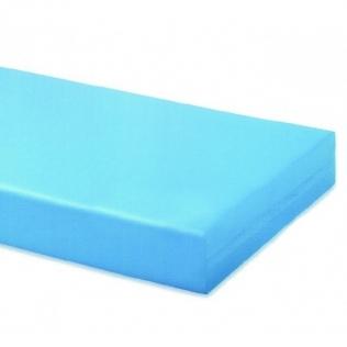 Colchón poliuretano con funda | antialérgico y antiácaros | 90 cm