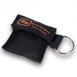 Bolsa de plástico para reanimación cpr   Llavero-bolsa   Negro   Mask's   Elite Bags