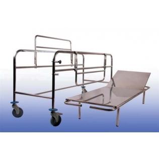 Carro camilla transporte urgencias | Rayos X | 1959x670x850 mm