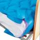 Colchón antiescaras de aire | Con compresor | PVC médico ignífugo | 200x90x7 cm | 130 celdas | Azul | Mobi 1 | Mobiclinic - Foto 6