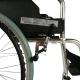 Silla de ruedas   Plegable   Aluminio   Ruedas grandes   Reposabrazos y reposapiés   Ortopédica   TOP   Palacio   Mobiclinic - Foto 3