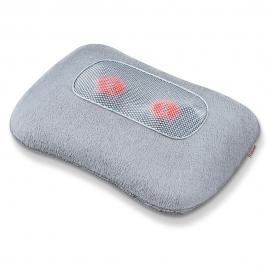 Almohada de masaje shiatsu con función calor, Almohada relajante Beurer 34x11x23cm