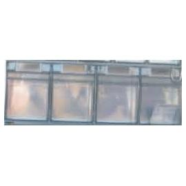 Dispensador transparente | 4 cajetines basculantes | Mobiclinic