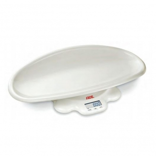 Báscula pesabebés | Electrónica | Hasta 50 kg | Bandeja extraíble y curvada | M112800 | ADE