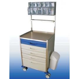 Carro hospitalario de medicación