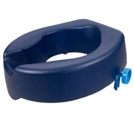 Elevador WC | 11 cm | Asiento de inodoro blando | Azul | Río | Mobiclinic