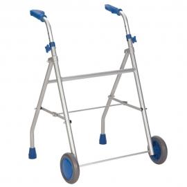 Andador ligero | Aluminio | Regulable en Altura | Azul