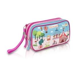 Bolsa isotérmica Dia's | Estampado infantil rosa| Para personas diabéticas | Elite Bags