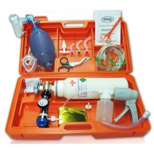 Equipo emergencia con aspirador manual   E-430   staglife