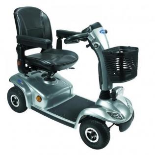 Scooter eléctrico | 4 ruedas neumáticas | Plata | Leo | Invacare