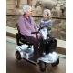 Scooter eléctrico | 4 ruedas neumáticas | Plata | Leo | Invacare - Foto 4