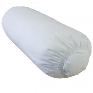 Almohada cervical cilíndrica 50x17cm