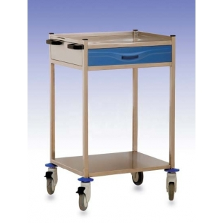 Carro hospitalario | 1 cajón superior frontal | polietileno