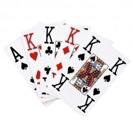 Baraja de cartas | Naipe | Baraja francesa | 56 cartas | Tamaño mayor | Mobiclinic
