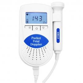Doppler| Detector fetal de bolsillo | Sonda de 2 MHz | Portátil | Mobiclinic