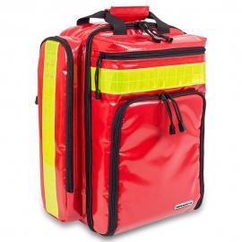Mochila de emergencias rescate | Cubre-mochila de poliéster | Material Tarpaulín | Rojo | EMS | Elite Bags
