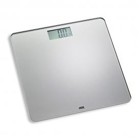 Báscula electrónica hasta 180kg | Elegante | Plateada | Leevke | ADE