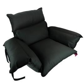 Cubresilla acolchado antiescaras silla de ruedas   Saniluxe T/L   Negra
