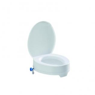 TSE-Easy 10 elevador WC con tapa. altura 10cm