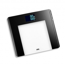 Báscula electrónica hasta 180kg | Multifunción | Negro | Linette | ADE