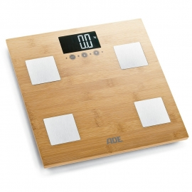 Báscula de baño digital hasta 150kg | Madera de bambú | Barbara | ADE