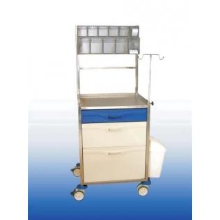 Carro hospitalario de anestesia