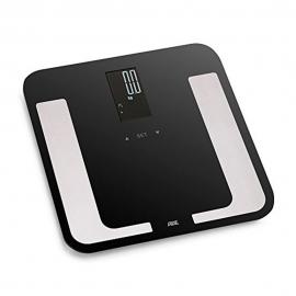 Báscula digital hasta 180kg | Multifunción | Negro | Bella | ADE