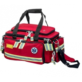 Bolsa emergencias | Soporte Vital Básico | Roja | Elite Bags