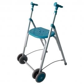 Andador Rollator | aluminio plegable | color esmeralda | kamaleon | FORTA