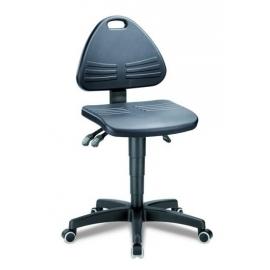 Taburete laboratorio con ruedas | altura asiento 430-600 mm | Isitec