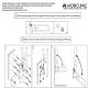 Barra abatible baño | Soporte para papel | Doble barra de seguridad | Arco | Mobiclinic - Foto 4