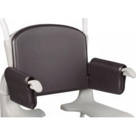 Respaldo blanco silla Clean