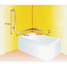 Barras asidero de acceso/salida a la bañera