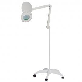 Lupa LED HF con base rodable de 8,8 kg