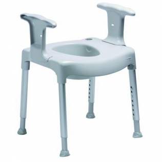 Elevador de baño | Altura regulable | Reposabrazos | Comode
