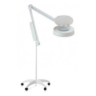 Lámpara con lente de aumento | base rodable 8,8 kg