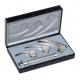 Conjunto Laringoscopio Ri-Modul | Luz de vacío XL 2.5V y Palas 0, 1 y 2 | Mod. Macintosh F.O. baby | Riester (8090) - Foto 1