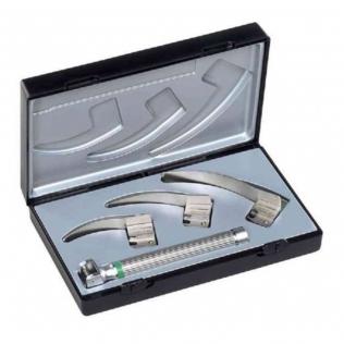 Conjunto Laringoscopio Ri-Modul | Luz de vacío XL 2.5V y Palas 0, 1 y 2 | Mod. Macintosh F.O. baby | Riester (8090)