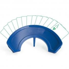 Soporte para baraja de cartas o naipes | Curvado | Azul | Mobiclinic