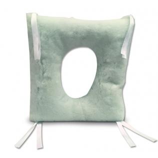 Cojín antiescaras | 44x44x9 cm | Cuadrado con agujero