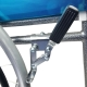 Silla de ruedas | Plegable | Ruedas grandes | Ligera | Ortopédica | Negro | Alcázar | Mobiclinic - Foto 8