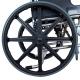 Silla de ruedas plegable | Aluminio | Reposabrazos abatibles y reposapiés extraíbles | Ruedas grandes | Ópera | TOP | Mobiclinic - Foto 2