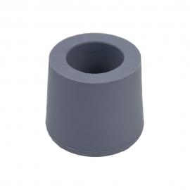 Contera gris para Andador Forta 22mm