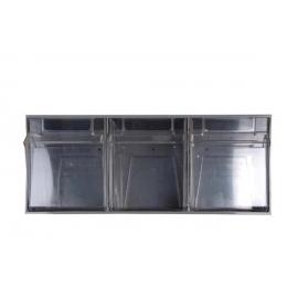 Dispensador transparente | 3 cajetines basculantes | Mobiclinic