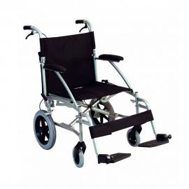 Silla de ruedas plegable para transporte