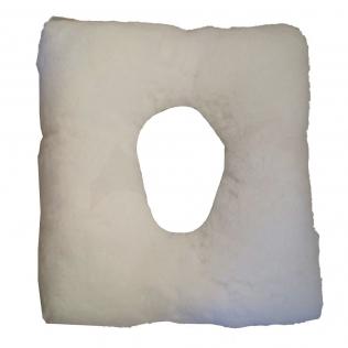 Cojín antiescaras | cuadrado y con agujero | 44 x 44 x 9 cm
